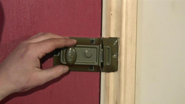 How To Fit A Cylinder Night Latch Aaa Locksmiths